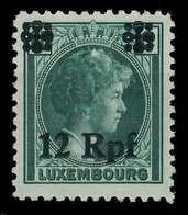 BES. 2WK LUXEMBURG Nr 23 Postfrisch X82AEEE - Besetzungen 1938-45