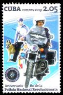 629  Motorcycles - Motos - Police - Gendarmerie - 2019 - MNH - Cb - 1,95  Nov - Motos