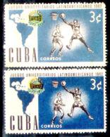 1251  Basketball - 1962 - Color Variety - MNH - 2,75  A14 - Basket-ball