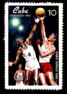 1251  Basketball - 1969 - MNH - Free Shipping - Cb - 1,75 - Basket-ball