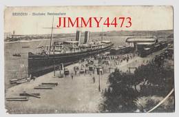 CPA - CARTOLINA - Stazione Peninsulare - BRINDISI Puglia Italie - N° 025 - Edit. Anelli Giovanni - Brindisi