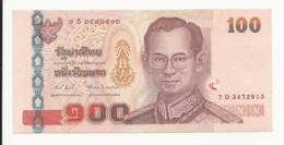 Thailand 100 Baht EF+ - Thailand