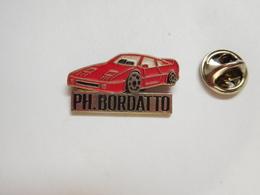 Beau Pin's , Auto Ferrari F40 , Ph. Bordatto , Biscarrosse - Ferrari