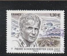 FRANCE 2018 PIERRE SCHOENDOERFFER OBLITERE - France
