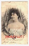 CPA - PEBREL - Comédienne En 1905  - Théâtre - Scans Recto-Verso - Théâtre