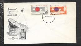 Tristan Da Cunha 1965, ITU First Day Cover - Tristan Da Cunha