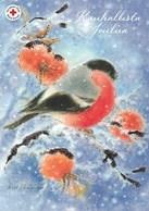 Postal Stationery - Birds - Bullfinches In Winter - Red Cross 2000 - Suomi Finland - Postage Paid - Ganzsachen