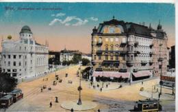AK 0279  Wien - Aspernplatz Mit Uraniatheater Um 1918 - Wien Mitte