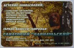 RUSSIA / USSR - Chip - Barnaul -  Altai Region - 30u - Bear - Sanatorium - ALT-BA-130 - 2nd Print Exp 01/08/02 - VF Used - Russia