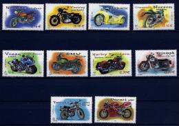 """FR YT 3508 à 3517 """" Cylindrées Et Carénages Motos """" 2002 Neuf** - Unused Stamps"""