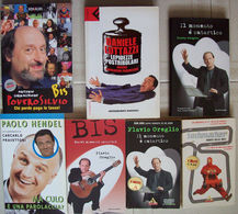 Lotto Di 7 Libri Genere UMORISMO - COMICI DI ZELIG - Lotti E Collezioni