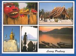 Laos; Multibildkarte - Laos