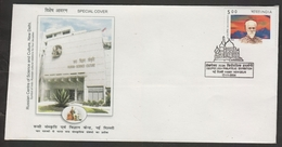 India 2004  Russian Centre Of Science And Culture  New Delhi Special Cover # 19110  D Inde  Indien - India