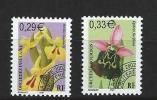 """FR Préo YT 244 & 245 """" Orchidées """" 2002 Neuf** - Precancels"""