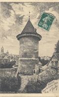 """ROUEN. TOUR DE JEANNE D'ARC . Dessin A La Plume """" A. GOULON """" AFFR SUR RECTO - Rouen"""