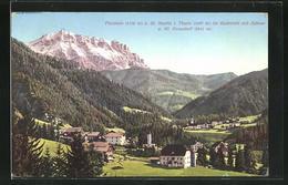 Cartolina Piccolein U. St. Martin I. Thurn, Ortsansicht Mit Zehner & Hl. Kreuzkofl - Altre Città