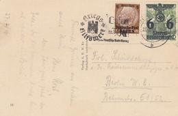 GG Ansichtskarte Krakau WHW Stempel Nach Berlin - Besetzungen 1938-45