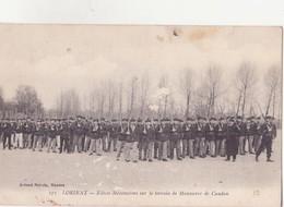 CPA - 271. LORIENT - élèves Mécaniciens Sur Le Terrain De Manoeuvre De Caudan - Lorient