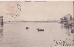 CPA - LORIENT Le Pont Suspendu - Lorient