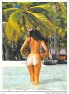 Polynésie Française-  (nu Nue  Nus)( Girls Of The South Seas Filles Des Mers Du Sud ) TEVA SYLVAIN  TAHITI 1140 - Polynésie Française