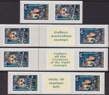 Australia 1997 Creatures Of The Night Sc 1623-24 Mint Never Hinged - 1990-99 Elizabeth II