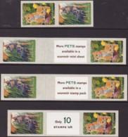 Australia 1996 Pets Sc 1564-65 Mint Never Hinged - 1990-99 Elizabeth II