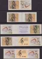 Australia 1993 Dinosaurs Sc 1348-49 Mint Never Hinged - 1990-99 Elizabeth II