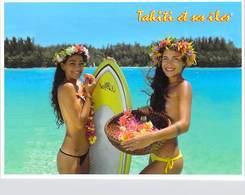 Polynésie Française TAHITI Et  îles (nu Nue Seins Nus)( Girls Of The South Seas Filles Des Mers Du Sud  T.SYLVAIN 1610 - Polynésie Française
