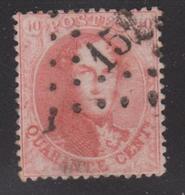 N° 16 Lp. 152 GOSSELIES - 1863-1864 Medallones (13/16)