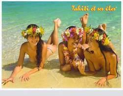 Polynésie Française TAHITI Et  îles (nu Nue Seins Nus)( Girls Of The South Seas Filles Des Mers Du Sud  T.SYLVAIN 1611 - Polynésie Française