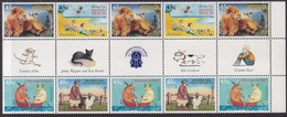 Australia 1996 Childrens Books Sc 1548-51 Mint Never Hinged Gutter - 1990-99 Elizabeth II