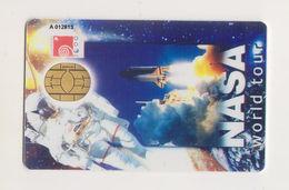 Singapore Old Cash Card NASA World Tour Gemplus Chip Unused Cashcard - Andere Verzamelingen