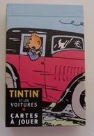 CARTES A JOUER  TINTIN ET LES VOITURES - Cartes à Jouer Classiques