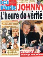 ICI PARIS N° 2895- 26 DECEMBRE 2000- JOHNNY HALLYDAY- LAETITIA-MADONNA-BRIGITTE BARDOT-EDITH PIAF- PRESLEY-MONROE-GABIN - People