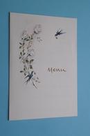 MENU > Huwelijk Van MONIQUE En HARRY > MAASTRICHT 20 Janvier 1973( Voir / Zie Foto's Voor Detail ) 15.148 Print België ! - Menus