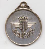 Aviation Civile Belgique Médaille SOBELAIR ( SABENA ) - Professionals / Firms