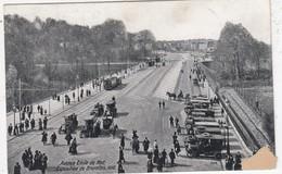 BRUSSELS / BRUXELLES / BRUSSEL / EXPOSITION  INTERNATIONALE 1910 / AVENUE DE MOT / TRAM / TRAMWAYS - Wereldtentoonstellingen