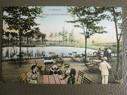 Postkarte Katowice Kattowitz (Pologne Poland) - Restauration Im Südpark - Polonia