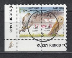 Cyprus Zypern Türk. 2019 Stamp Bird Vogel Used - 2019