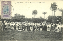( CONAKRY   )( GUINEE     )( RELIGION MUSULMANNE ) FETES DU RAMADAN . SALAM - French Guinea
