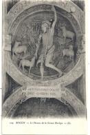 129. ROUEN . LE DESSOUS DE LA GROSSE HORLOGE . CARTE NON ECRITE - Rouen