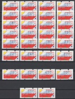 1989-1993: Pays-Bas. Automaatstroken NVPH N° AU1/AU30 **/ MNH. Cote NVPH 2015 : 105 € - Period 1980-... (Beatrix)