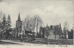 Freux.   -   Château Du Baron Goffinet.  -   1906  Naar   Roulers - Libramont-Chevigny
