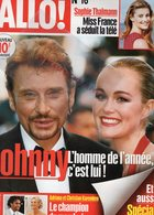 ALLO N° 16- 30 DECEMBRE 1998- JOHNNY HALLYDAY-LAETITIA-ADRIANA KAREMBEU-SOPHIE THALMANN-JAMES CAMERON-NOUREEV- - People