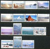 Australian Antarctic Territory 1984-87 Scenes Set MNH (SG 63-77) - Australian Antarctic Territory (AAT)