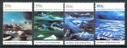 Australian Antarctic Territory 1989 Landscape Paintings Set MNH (SG 84-87) - Unused Stamps