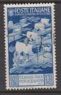 Italy S 423 1937 Bimillenary Birth Of Emperor Augustus,lire 1,25 Blue, Used - Used