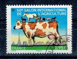 2013 N 4729 SALON AGRICULTURE VACHE PORC BELIER OBLITERE CACHET ROND #228# - Gebruikt