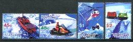 Australian Antarctic Territory 1998 Antarctic Transport Set MNH (SG 122-125) - Unused Stamps