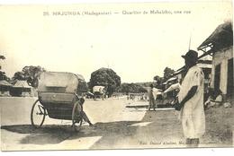 (MADAGASCAR  )( MAJUNGA  ) QUARTIER DE MAHABIBO UNE RUE - Madagascar